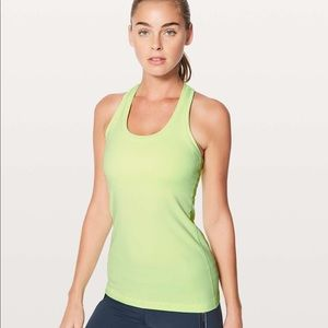 Lululemon Clear Mint Cool Racerback II